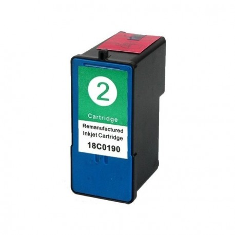 Tinta compatible LEXMARK LE Nº2 X2350/2310/2450/2470/3470/2550/Z735/845 18C0190-COLOR