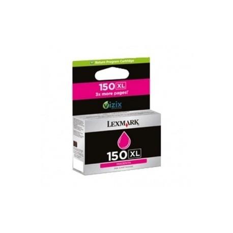 TINTA COMPATIBLE LEXMARK N150XL 14N1616E MAGENTA