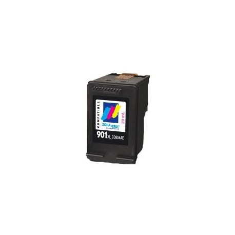 Cartucho de tinta compatible con HP CC656A N901XL Color (18 ML)