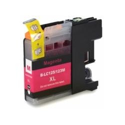 TONER COMPATIBLE BROTHER LC123XL MAGENTA LC123M 10ML