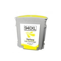Cartucho de tinta compatible con HP C4909A CHIP N 940XL Yellow (28ML)