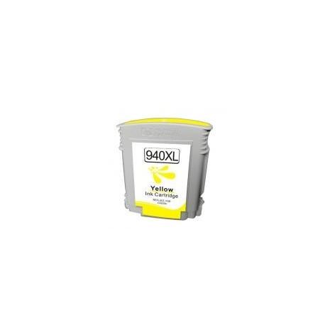 Cartucho de tinta compatible con HP C4909A CHIP N 940XL Yellow (28ML)