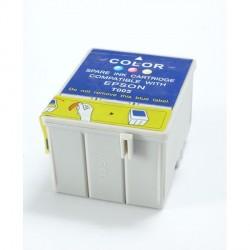 Cartucho de tinta compatible con Epson T005011 Tricolor