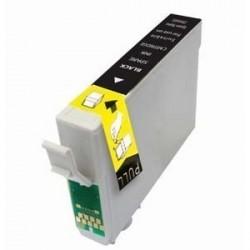 Cartucho de tinta remanufacturada con Epson T01281 Negro 15ML