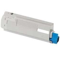 Toner Compatible con Oki 43872308 C5650 C5750 Negro 8k