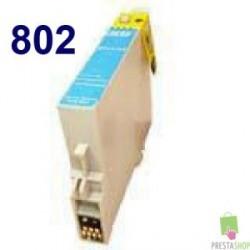 TINTA COMPATIBLE EPSON T0802 CYAN CALIDAD PREMIUM 11.4ML