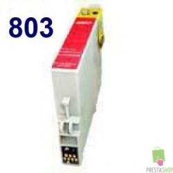 TINTA COMPATIBLE EPSON T0803 MAGENTA CALIDAD PREMIUM 11.4ML