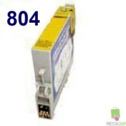TINTA COMPATIBLE EPSON T0804 AMARILLO CALIDAD PREMIUM 11.4ML