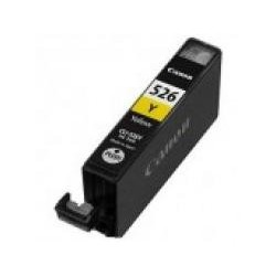 Cartucho de tinta compatible con Canon CLI526Y Yellow (9 ML)