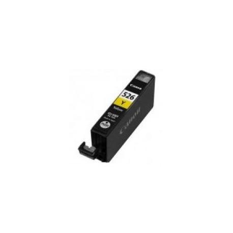 Cartucho de tinta compatible con Canon CLI526Y Yellow (9 ML)