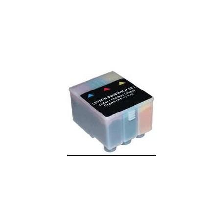 Cartucho de tinta compatible con Epson S020036 Tricolor