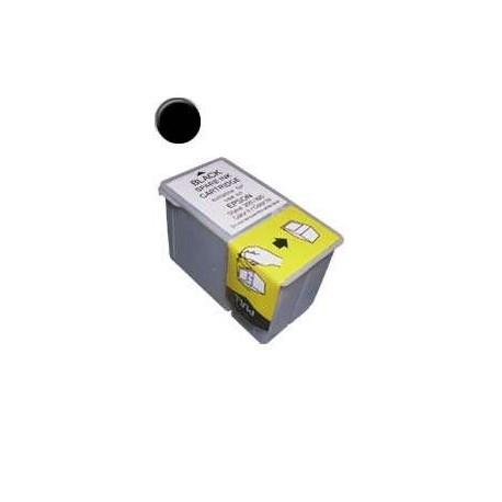 Cartucho de tinta compatible con Epson S020047 Black