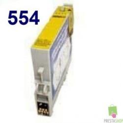 CARTUCHO COMPATIBLE EPSON T0554 AMARILLO CALIDAD PREMIUM 10ML