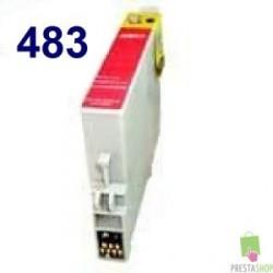 CARTUCHO COMPATIBLE EPSON T0483 MAGENTA CALIDAD PREMIUM 14.4ML