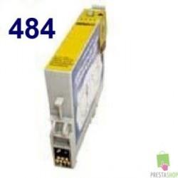 CARTUCHO COMPATIBLE EPSON T0484 AMARILLO CALIDAD PREMIUM 14.4ML