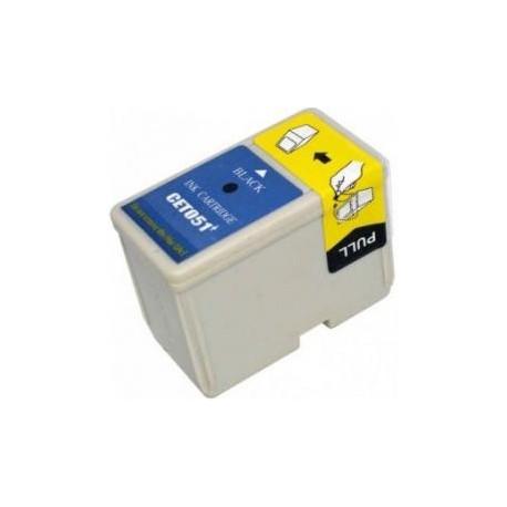 Cartucho de tinta compatible con Epson T051 Black 25.2ML