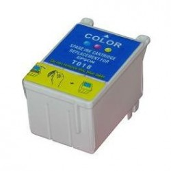Cartucho de tinta compatible con EPSON T018C COLOR
