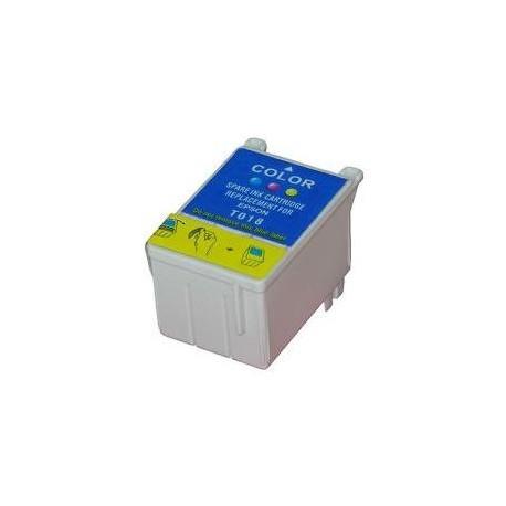 Cartucho de tinta compatible con EPSON T018C COLOR