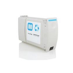 Tinta Compatible HP 80 C4846A Cyan 400ml