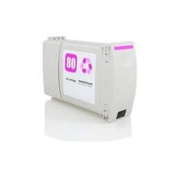 CARTUCHO COMPATIBLE HP 80 MAGENTA C4847A 400ML