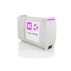 CARTUCHO COMPATIBLE HP 80 MAGENTA C4847A 400ML