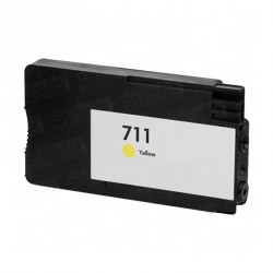 CARTUCHO COMPATIBLE HP 711 AMARILLO CZ132A 26ML