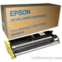 Cartucho de toner compatible con Epson S050034 Yellow 6.000 Paginas