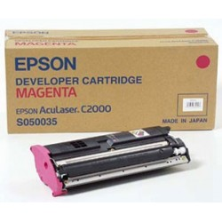 Cartucho de toner compatible con Epson S050035 Magenta 6.000 Paginas