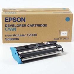 Toner compatible con Epson S050036 Cyan 6k