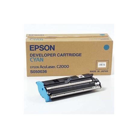 Cartucho de toner compatible con Epson S050036 Cyan 6.000 Paginas