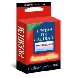 CARTUCHO COMPATIBLE BROTHER LC121XL LC123XL AMARILLO CALIDAD PREMIUM 11.4ML