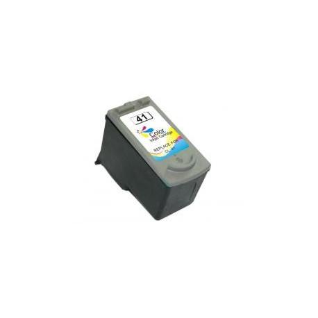 Cartucho de tinta compatible con Canon CL41 CL51 MUESTRA NIVEL DE TINTA Tricolor 15ml 0618B001