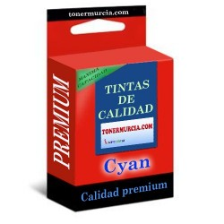 TINTA COMPATIBLE BROTHER LC1000/LC970 CYAN CALIDAD PREMIUM 20ML