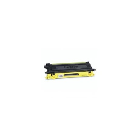 Toner compatible con Brother TN130/135 Amarillo 4.000 pag