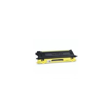 Toner compatible con Brother TN130/135 Amarillo 4.000 pag