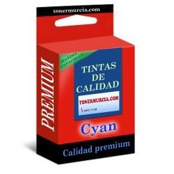 TINTA COMPATIBLE CANON CLI8 CYAN CALIDAD PREMIUM 12ML