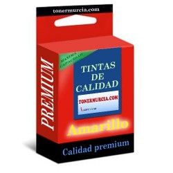 CARTUCHO COMPATIBLE EPSON T1634 (16XL) AMARILLO CALIDAD PREMIUM 10ML