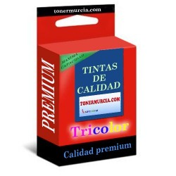 CARTUCHO DE TINTA COMPATIBLE HP 62XL TRICOLOR PREMUM C2P07AE 18ML