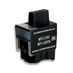 Cartucho de tinta compatible con Brother LC900BK Black-25 ML