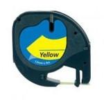 Cintas rotuladoras 91202 amarillo/negro