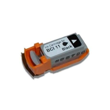 Cartucho de tinta compatible con Canon BCI11BK Black