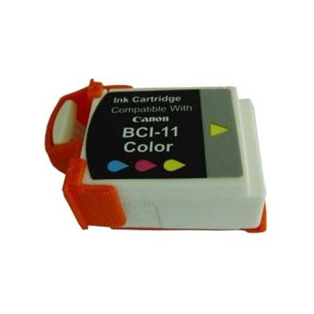 Cartucho de tinta compatible con Canon BCI11C Color