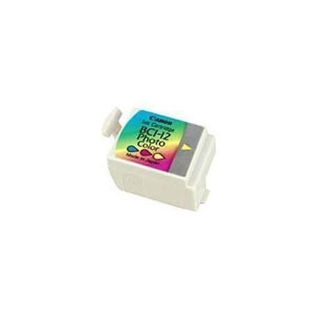 Cartucho de tinta compatible con Canon BCI12PC
