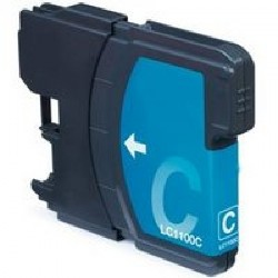 TINTA COMPATIBLE BROTHER LC980 LC1100C CYAN