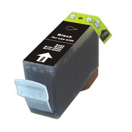 Cartucho de tinta compatible con Canon BCI3BK Negro