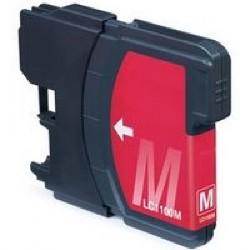 Cartucho de tinta compatible con Brother LC980M Magenta (19.5 ML)