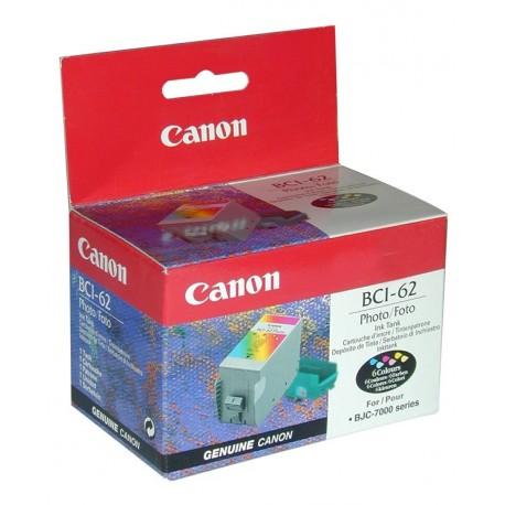 Cartucho de tinta compatible con Canon BCI62C Photo