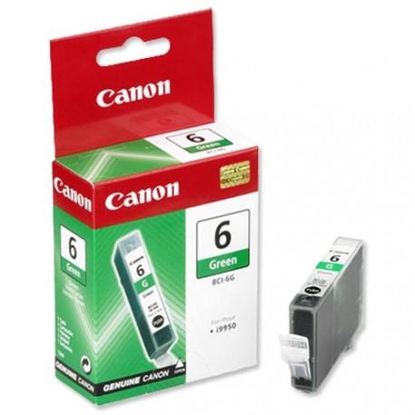Cartucho de tinta compatible con Canon BCI6G Verde