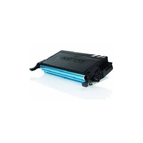 TONER GENERICO SAMSUNG CLP-610ND/660N/660ND CLX/6200ND/6210FX/6240FX CYAN 5000C.