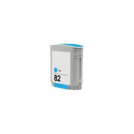 Cartucho de tinta compatible con HP Nº82 C4911A CYAN 69ML.
